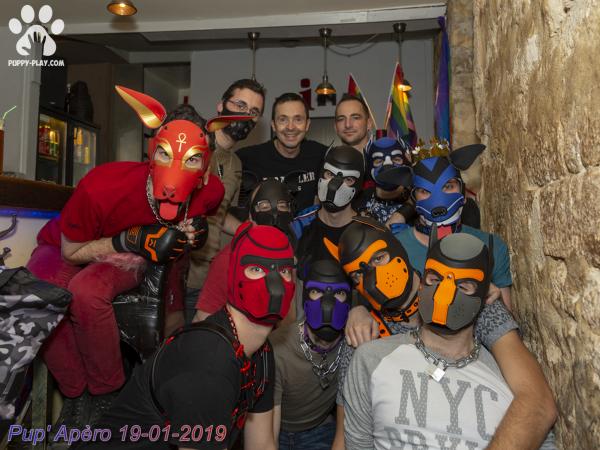 Photos : 27ème Apéro Puppy – Janvier 2019