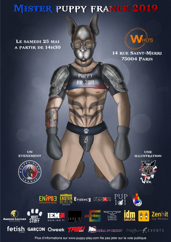 Election : Election Mister Puppy France 2019