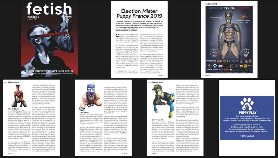 Fetish By Qweek : Interviews des candidats