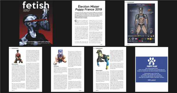 Magazine : Fetish By Qweek – Interviews des candidats