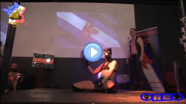 Vidéo : Mister Puppy France 2019 – Performance Oréo