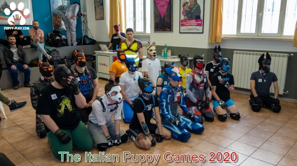 Photos : The Italian Puppy Games 2020
