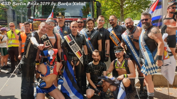 Photos : CSD Berlin 2019 by Barka Xetal