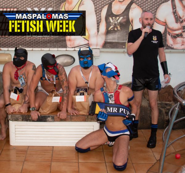 Interview : Patrick Marmion – MASPALOMAS FETISH WEEK 2020