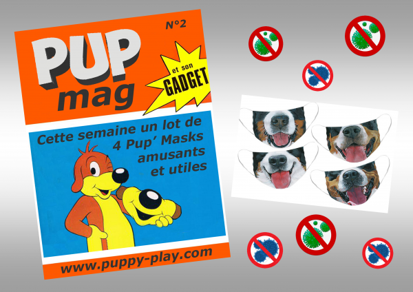 Humour : Pup' Mag Gadget n°2