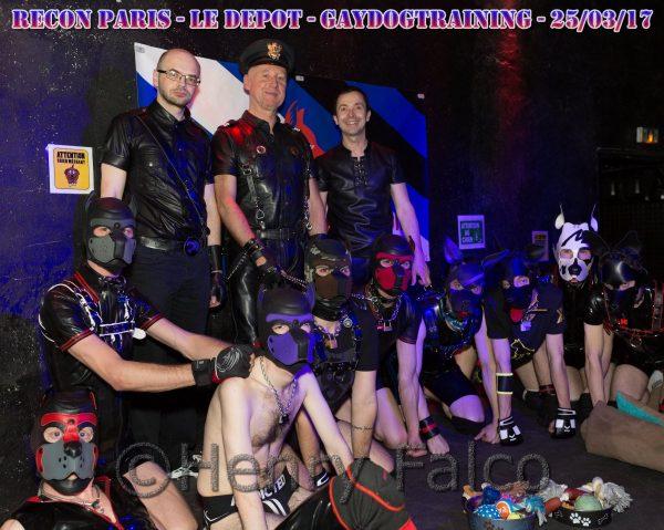 Photos : Recon Paris – Dogzone – après minuit ;)