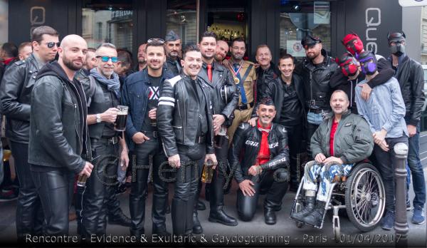 "Photos : Rencontre ""Exultaric & EvidencE & Gaydogtraining"" Paris"