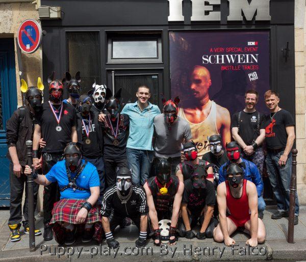 Photos : Election Mister Puppy France 2017 – Visite IEM