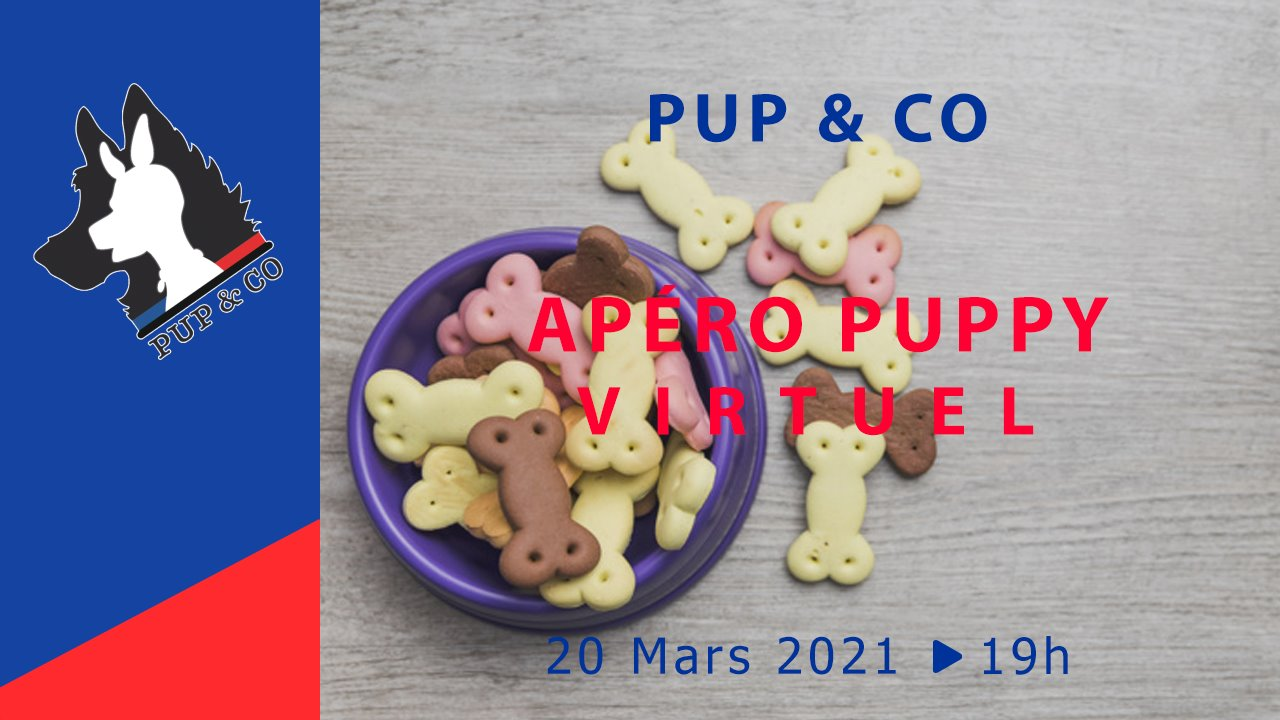 2021-03-20 - Apéro Puppy Virtuel by Pup&Co