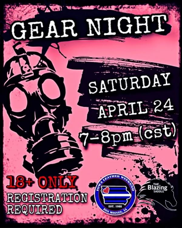 2021-04-25 – Gear Night – April 2021