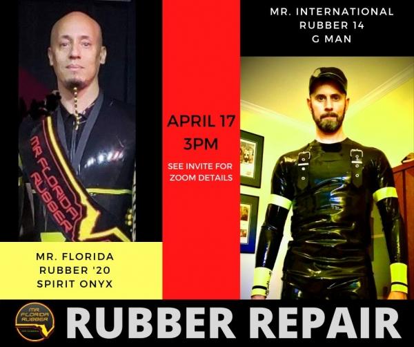 2021-04-17 – Rubber Repair Workshop