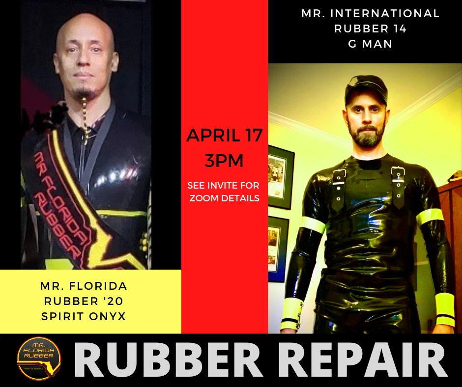 2021-04-17 - Rubber Repair Workshop