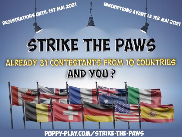 Contest : International Puppy-Play photo contest