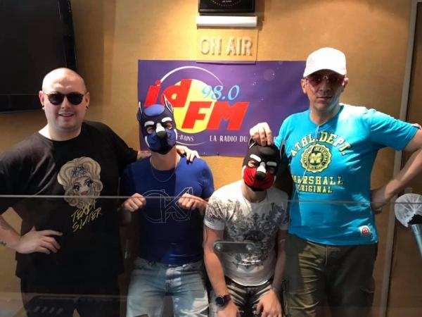 Podcast : Texia, Patouchka, Oréo et Barka sur IDFM Radio 98FM