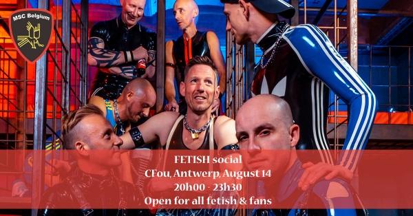 2021-08-14 – FETISH Social – Antwerp PRIDE
