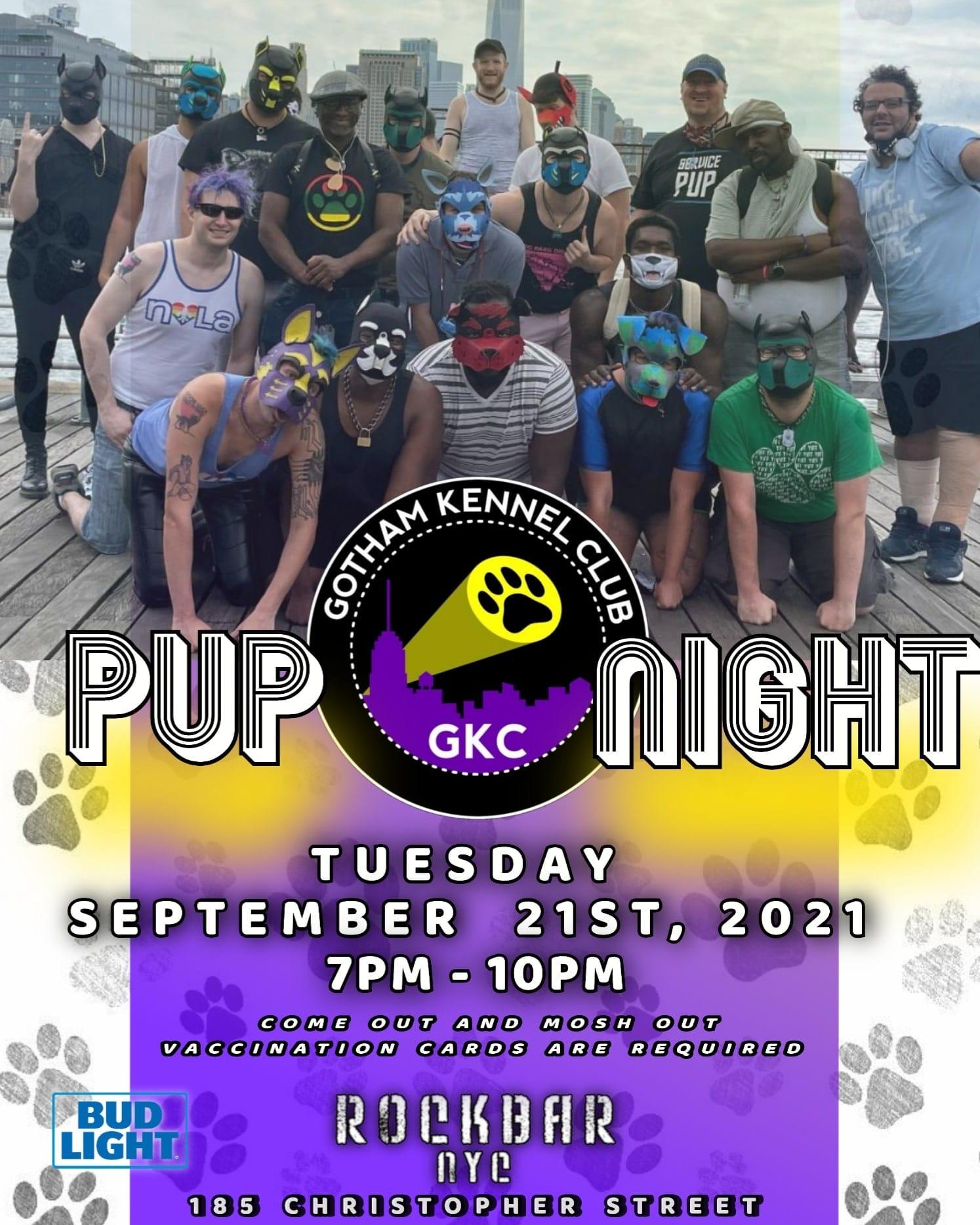 2021-09-21 - Pup Night