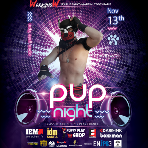2021-11-13 - Week-end Puppy France - Pup Night