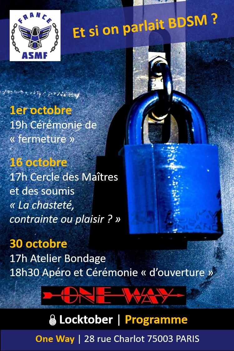 """2021-10-30 - Locktober cérémonie """"d'ouverture"""""""